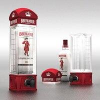 Creative 1 PC British Style Cocktail Shaker Wine Dispenser Desktop Water Drink/Beer/Water Dispenser Mini Beverage Bar Accessory