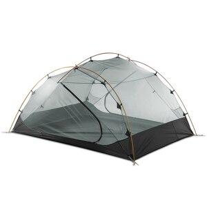 Image 5 - 3F Ul Gear 3 Persoon Camping Tent 15D Siliconen 210T Outdoor Ultralight Wandelen Waterdicht Met Grondzeil