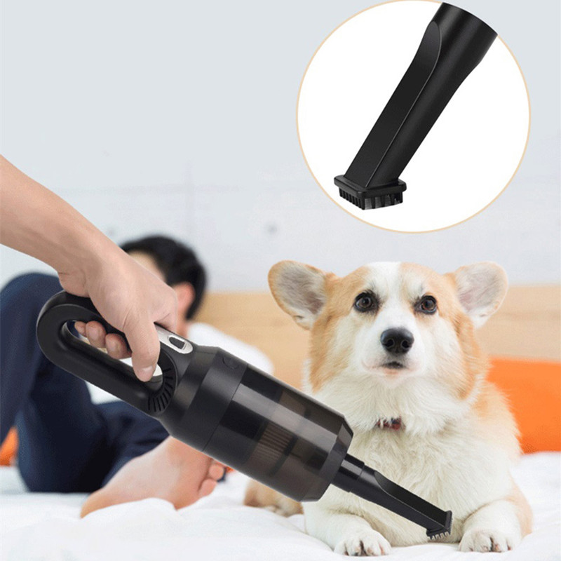 Wet Dry Household Handheld Wireless Car Keyboard Vacuum Cleaner USB Power Supply Keyboard Window Dust Pet Hair Cleaning Machine