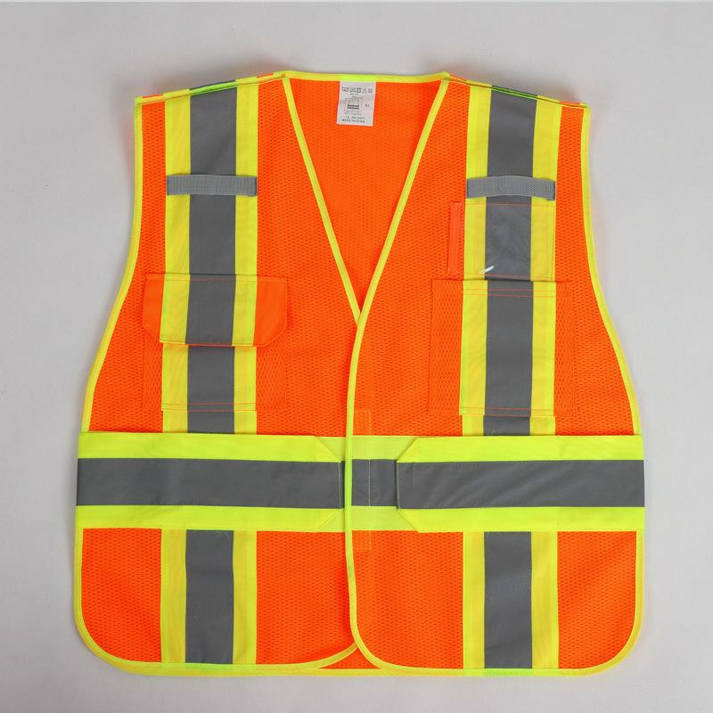 Reflective Safety Warning Vest Working Clothes Reflectante Chaleco Day Night Protective Vest For Cycling Outdoor Traffic DFZ017 Reflective Safety Warning Vest Working Clothes Reflectante Chaleco Day Night Protective Vest For Cycling Outdoor Traffic DFZ017