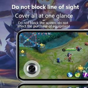 Image 4 - 2018 סתיו החורף חדש עגול משחק ג ויסטיק נייד טלפון Rocker עבור Iphone אנדרואיד Tablet מתכת כפתור בקר עבור PUBG