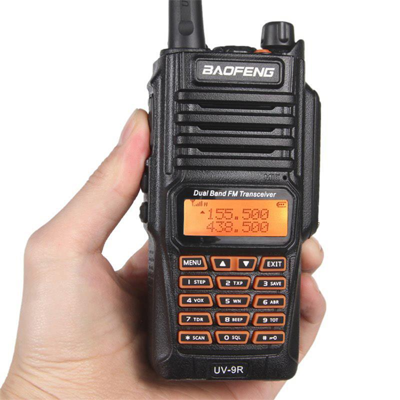 UV-9R 8 w Longue Portée Talkie Walkie Radio Dual Band Portable UV9R Émetteur-Récepteur VHF UHF CB Radio Station Communicateur VOX TOT