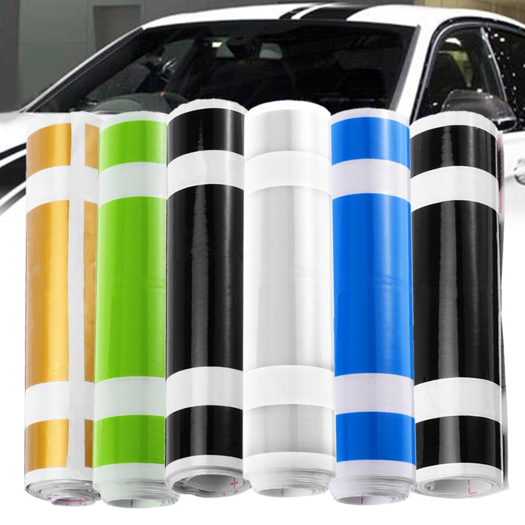 1 Roll 183*15cm Car Styling Stripe Sticker Racing Vinyl Pinstripe Hood Decal Decoration