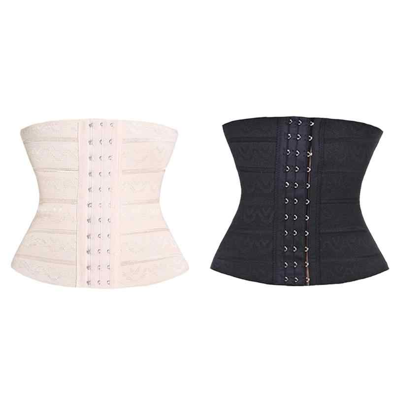 21CM Waist Slim Body Shaper Intimates Waist Trainer Corset Slimming Belt Ventilate Puerperal Corset Breatheable Postpartum Belt