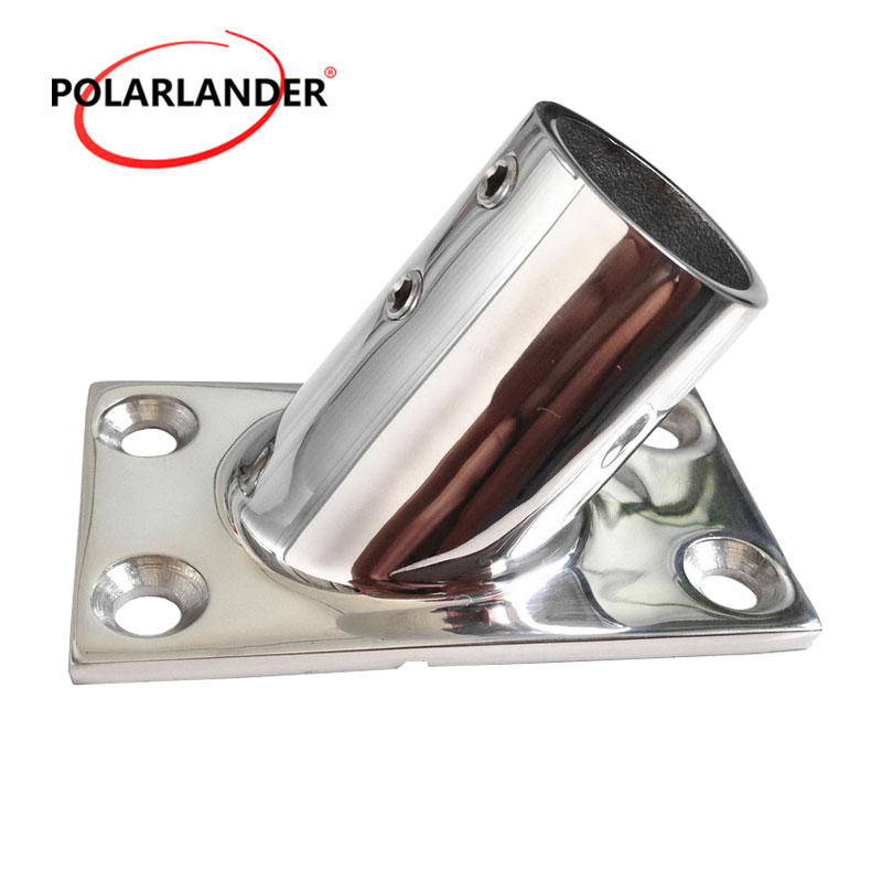 1 Pc Stainless Steel Hand Rail Fittings 60 Degree 22mm 7/8