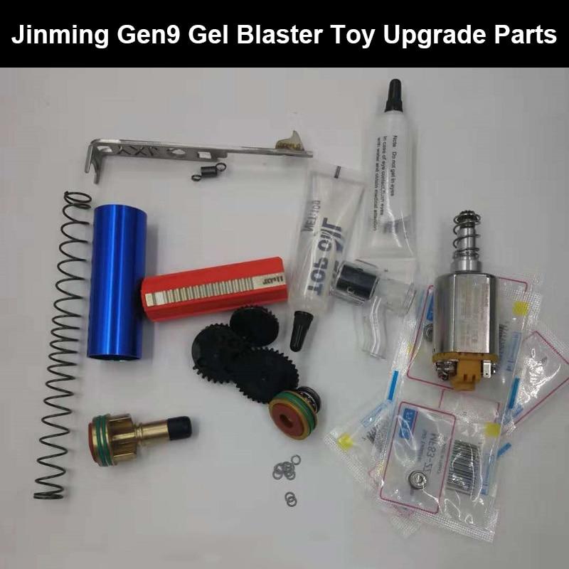 Zhenduo jouet J9upgradeparts Gel balle pistolet accessoires enfants en plein air passe-temps pistolet pour cadeau de noël