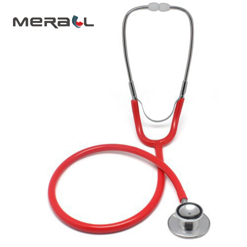 Stethoscope Stetoskop Medical Fonendoscopio Profesional Happy Doctor Physical Therapy Cardiology Black Health Care Equipment