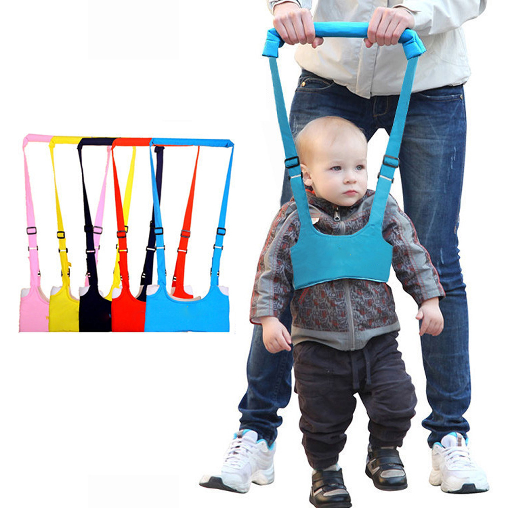 Baby Walker Toddler Harness Assistant Backpack Leash Children Kids Strap Cotton Learning Walking Child Safety Anti Lost Reins