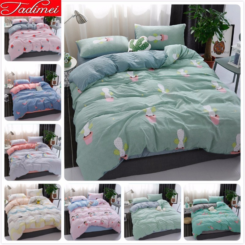 New Creative Pattern Duvet Cover Bedding Set Quilt Comforter Case Coverlet Adult Kid Child Bed Linen Single Full Queen King Size