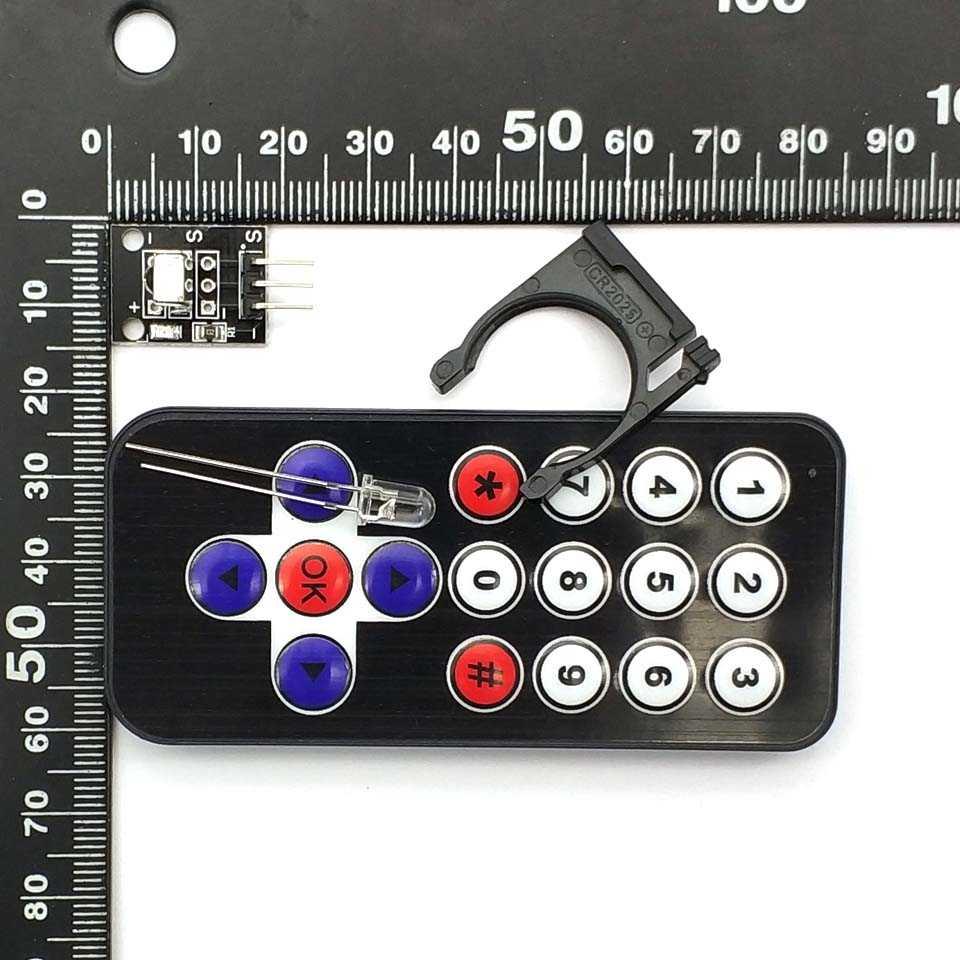 Умная электроника Горячая продажа Черный Инфракрасный ИК беспроводной пульт дистанционного управления Модуль наборы для Uno DIY Kit