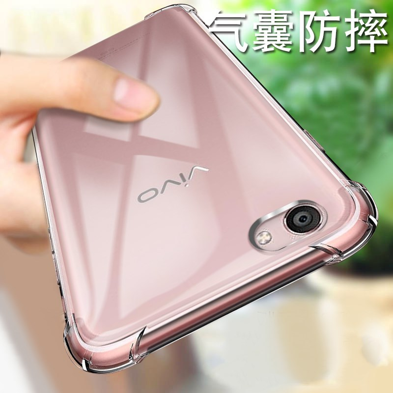 Suqy TPU <font><b>Cases</b></font> for <font><b>vivo</b></font> X20 X20 plus V9 Y85 Z1 Y71 X21i <font><b>Y83</b></font> Y81 Transparent Silicone Clear <font><b>Case</b></font> Funda Protective Shell Cover image