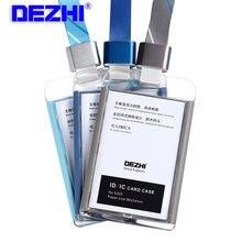 Dezhi совершенно новые держатели для карт ic офиса цветной держатель