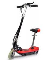 VidaXL мощный 120 Вт Мотор электрические скутеры заряжаемый электрический скутер с Регулируемая шлейка для детей 6 лет старше