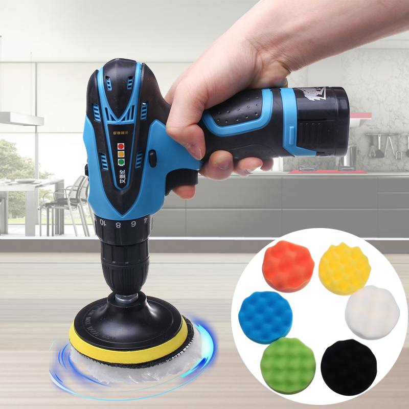 16 8v Car Polisher Wireless polishing machine For waxing polishing and sealing glaze