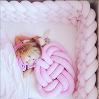 40X30CM Plush Soft Knotted Ball Baby Sleeping Pillow Bedroom Sofa Back Plush Lumbar Cushion Decoration Throw Pillow Stuffed Doll
