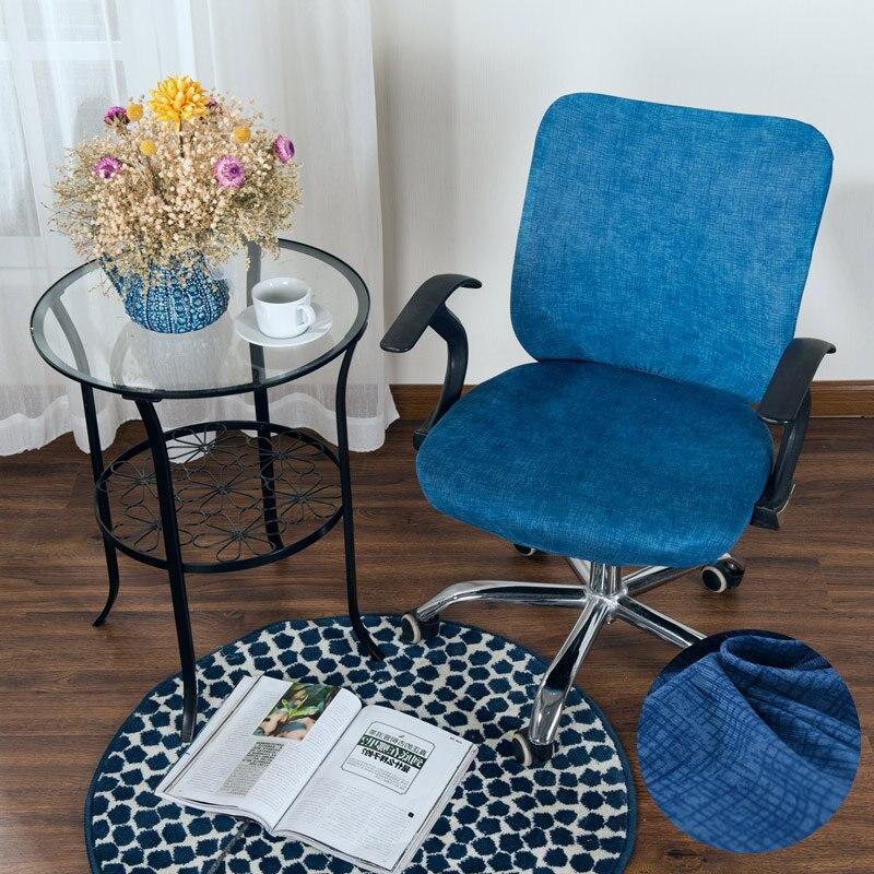 Ikea Eetkamer Stoelhoezen.Cross Pattern Spandex Chair Cover Armrest Cover Slipcover Office