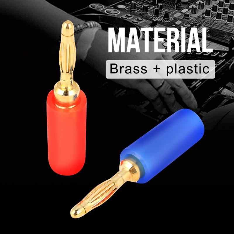 20 шт./компл. 2 мм смешанные цвета вилка штекерного типа тестовые зонды разъем для усилителя новое поступление