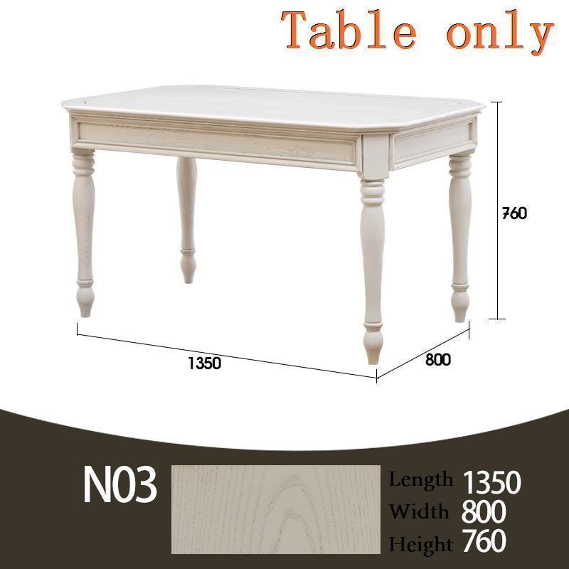 Masa Sandalye Tavolo Pliante Dinning Set Tisch Meja Makan Tafel Wooden Bureau Desk De Jantar Mesa Comedor Dining Room Table in Dining Tables from Furniture