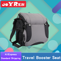 Multifunctional Portable Baby Travel Booster Seat & Diaper Bag Backpack Foldable Infant Seat for Highchairs/Baby Chairs 2 in 1