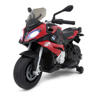 Two Wheels Simulated Model S1000R Motorcycle Children Boy Outdoor Sports Toy Car Can Ride Electric Motorcycle