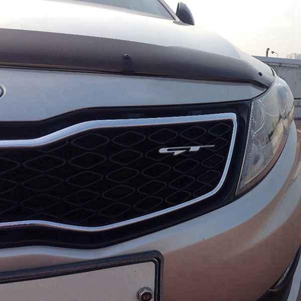 クール 3D 車スタイルステッカー Gt の手紙起亜のためリアトランクフェンダー車のドアステッカー Gt ライン