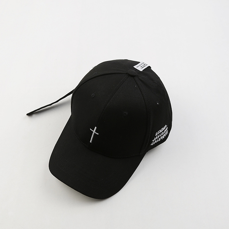 2019 Embroidery Christian Cross Cotton Cap Baseball Cap casual Snapback Hat Hip Hop Jesus God Cap hats for Men Women cap