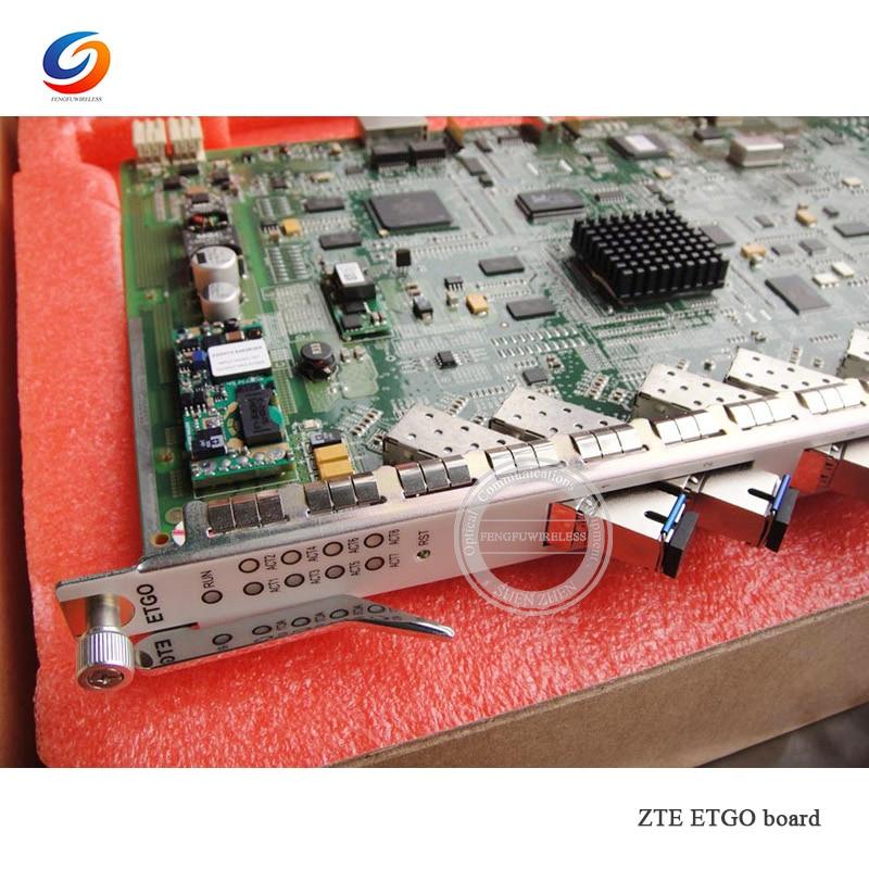 Livraison gratuite 1 pcs D'origine ZTE 8 ports EPON conseil pour C300 BTA. ETGO ETGOD/F conseil avec 8 EPON modules au Brésil