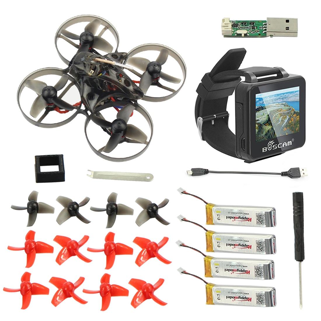 Mobula7 Mobula 7 75mm Crazybee F3 Pro OSD 2 S RC FPV Racing Drone Compatible Frsky Flysky avec BOSCAM BOS200RC FPV Montre