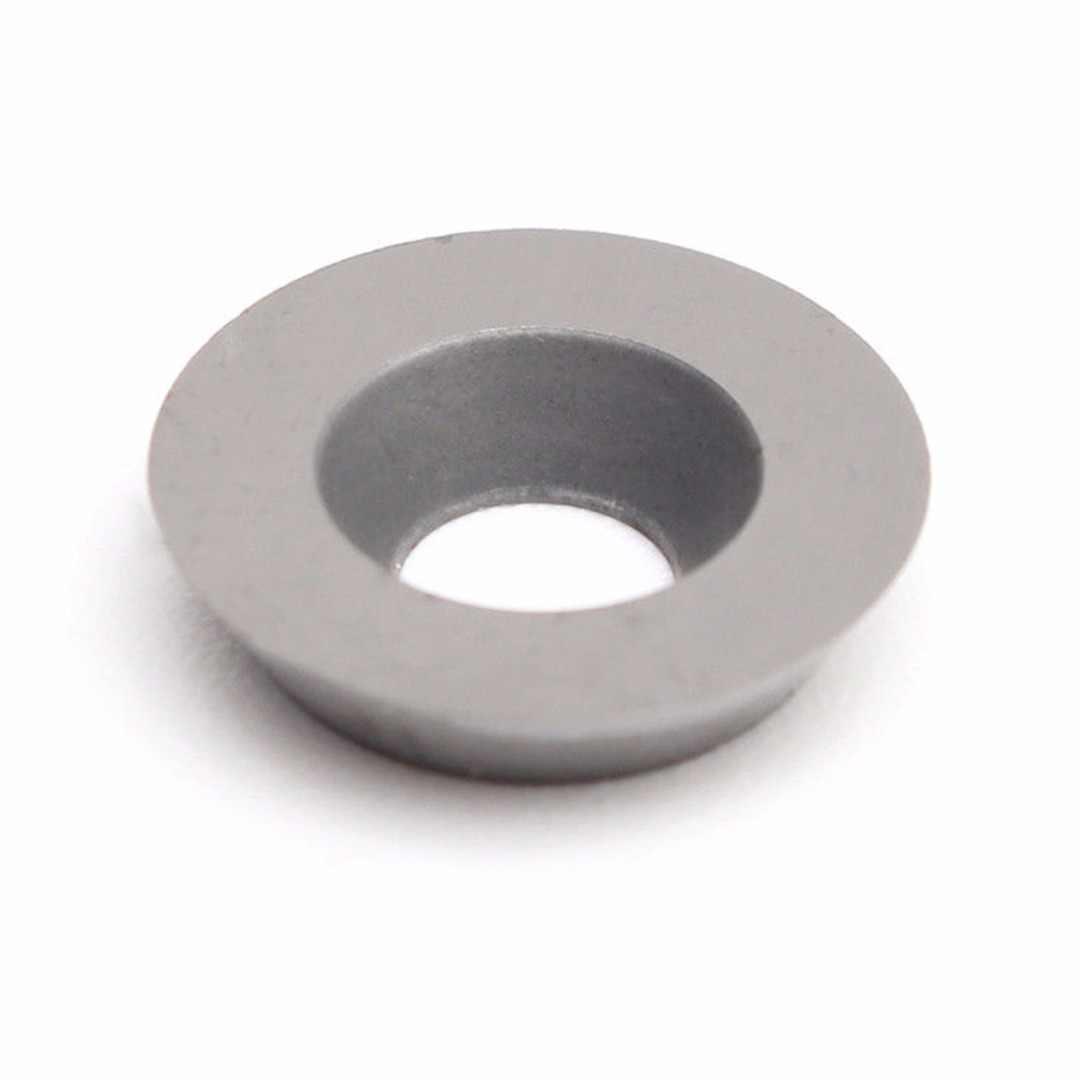 1pc 12 millimetri Diam In Acciaio Al Tungsteno Lame Rotonda Inserto In Metallo Duro con Vite Tornio CNC Lavorazione Del Legno Girare Cutter per la Lavorazione di legno