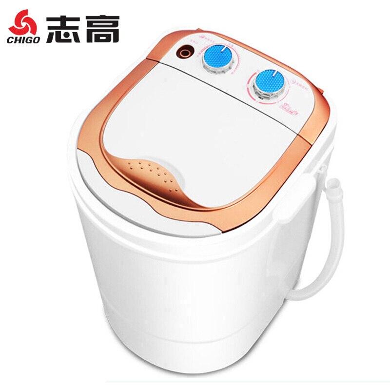 Portable Washing Machine 2.0 Kg Mini Washing Machine Small Baby Child Household Single Barrel Fully-automatic Disposable Washing