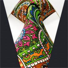 Multicolor Abstract Silk Mens Neckties Gift Designer Xlong Fashion Wedding Groom Ties