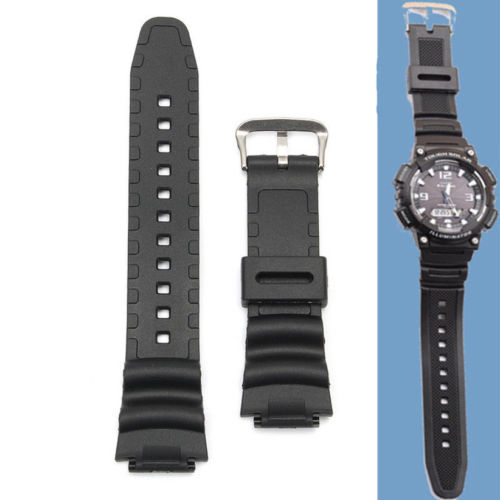 Watchband 18mm Original Watch Strap Band For Smart SGW 300H SGW 400H SGW 300 SGW 400 Black