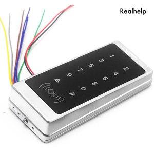 Image 5 - دعم 1000 بطاقة و 500 كلمة اللمس لوحة المفاتيح الدخول نظام مكتب الوصول للماء التحكم في الوصول يجاند RFID بطاقة قارئ