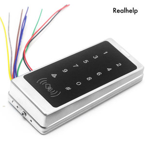 Image 5 - Support 1000Card and 500Password Touch Keypad Entry System Office Access Waterproof Access control Wiegand RFID Card Reader