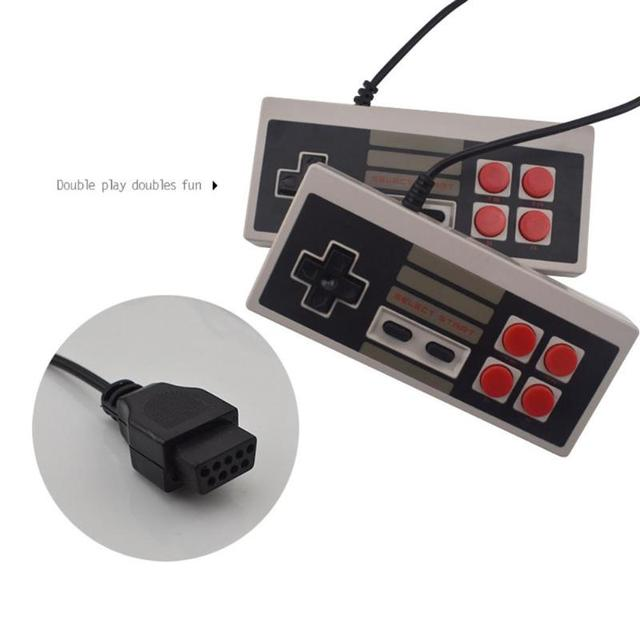 ALLOYSEED Retro Mini TV Game Console 8 Bit Handheld Game Player AV Port Kids Video Gaming Console Built-In 500/620 Classic Games