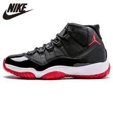 purchase cheap 09eba 5e3e9 Nike Air Jordan XI Bred AJ 11 D origine nouveauté Hommes chaussures de  basket mode de Vie Confortable Sport Sneakers  378037-010