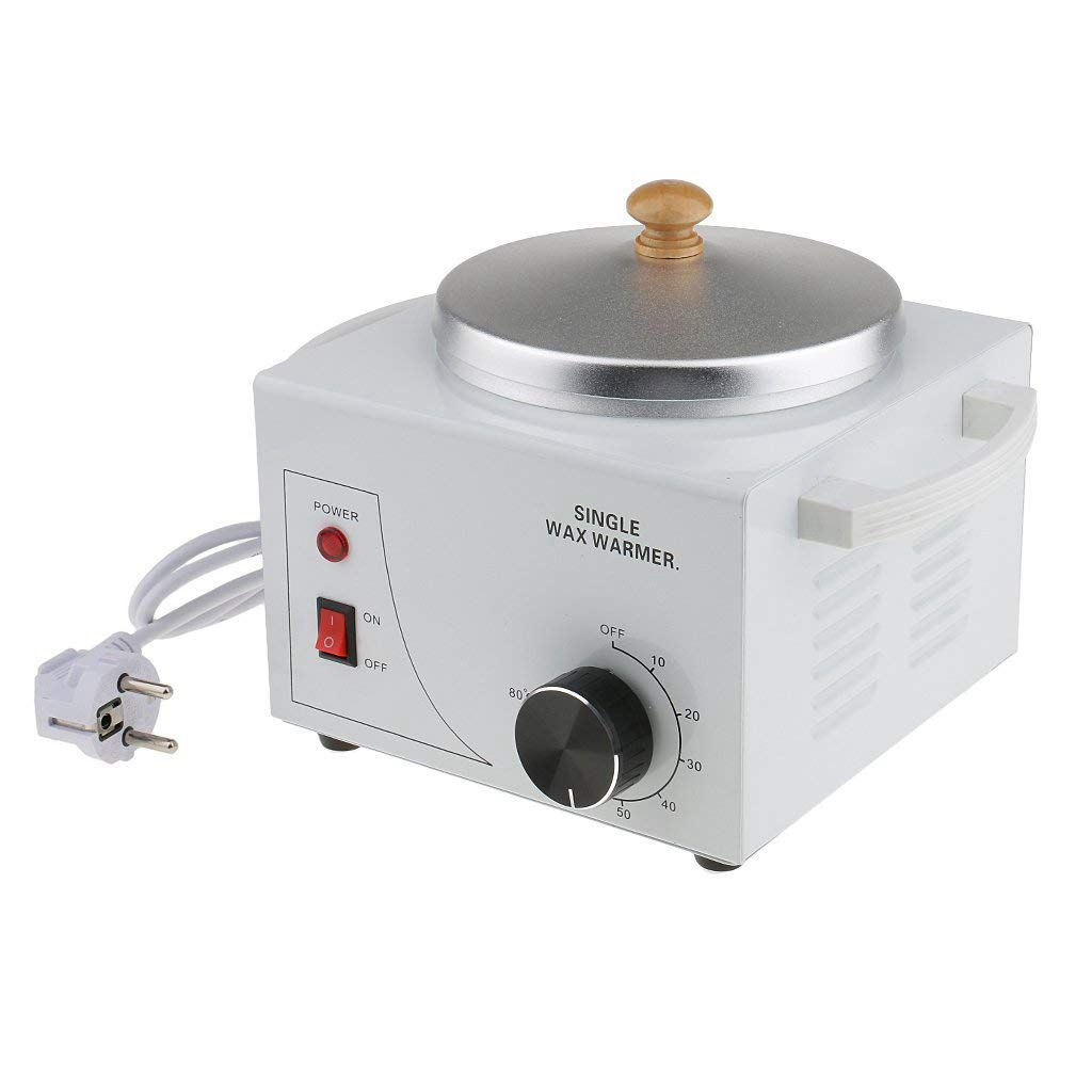 Single Pot Metallic Electric Waxing Machine Hot Waxing Paraffin Waxing for Professional Salon EU Plug