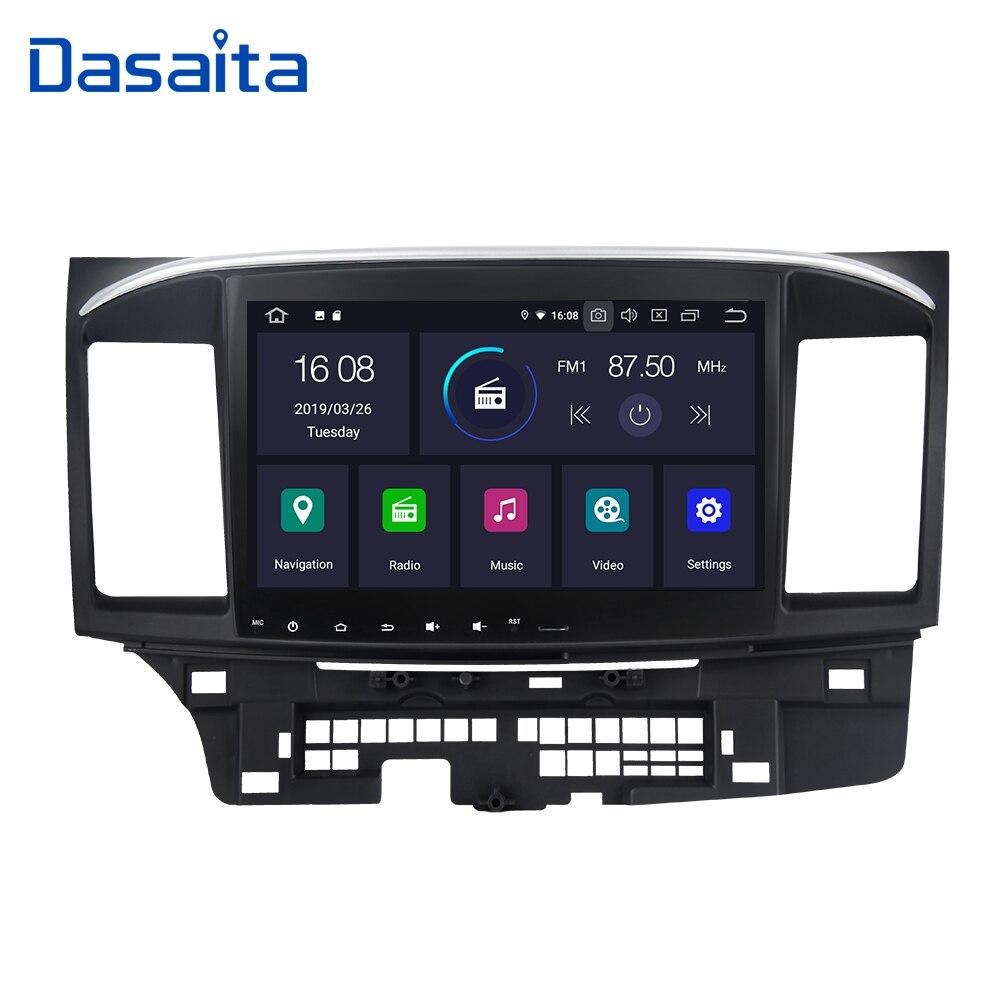 Acessórios Do Carro Dasaita 1 din Player de Rádio Android 9.0 Carro GPS de Navegação com 10.2