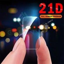 2PCS 21D Tempered Glass HD For Samsung Galaxy A6 J6 J4 Plus J7 J8 S8 S9 S10 E Note 8 9 Camera Lens Screen Protector Film
