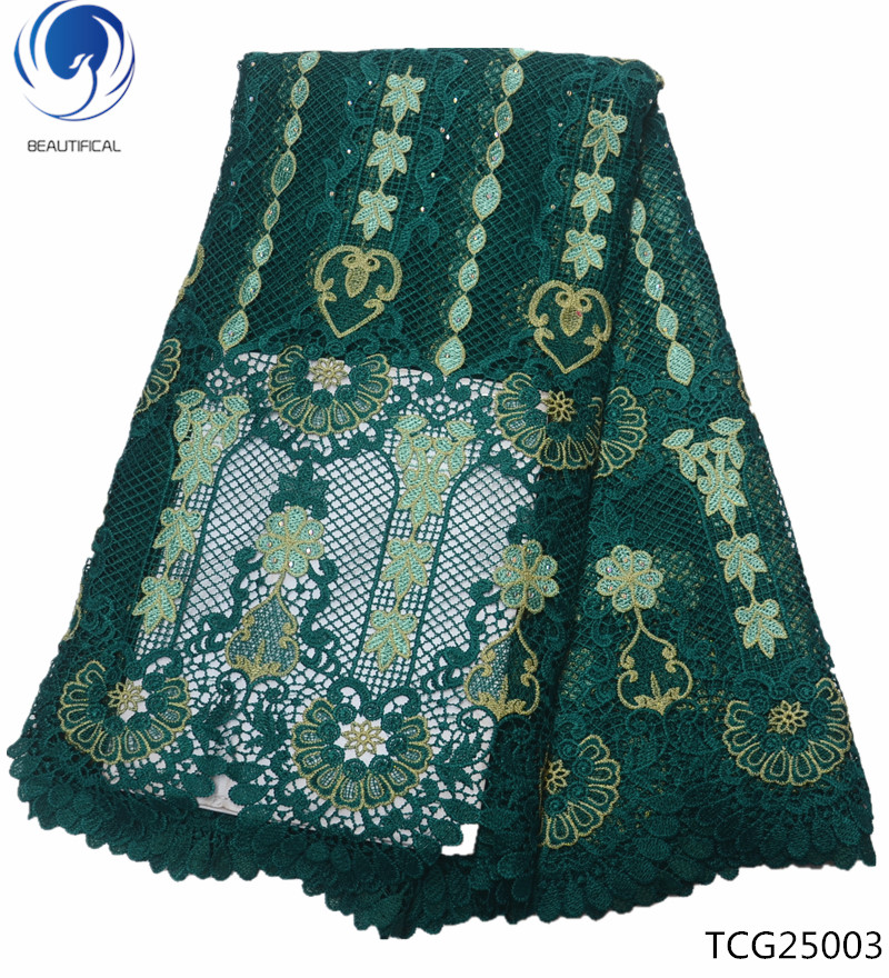 BEAUTIFICAL african water soluble lace fabrics 2019 high quality lace fabrics guipure laces dress with rhinestones 5yards TCG250BEAUTIFICAL african water soluble lace fabrics 2019 high quality lace fabrics guipure laces dress with rhinestones 5yards TCG250