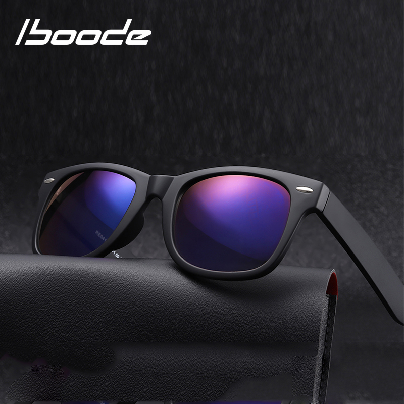 Iboode Bifocal Reading Sun Glasses Women Men Presbyopia Eyeglasses Classic Square Sunglasses With Diopters +1.5 2.0 2.5 3.0 3.5