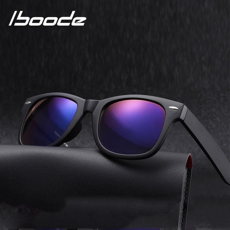 Iboode Bifocal Reading Sun Glasses Women Men Presbyopia Eyeglasses Classic Square Sunglasses With Diopters +1.5 2.0 2.5 3.0 3.5