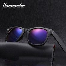 Iboode óculos de Leitura Bifocais Óculos de Sol Dos Homens Das Mulheres Óculos de Presbiopia Clássico Praça Óculos De Sol Com Dioptrias + 1.5 2.0 2.5 3.0 3.5