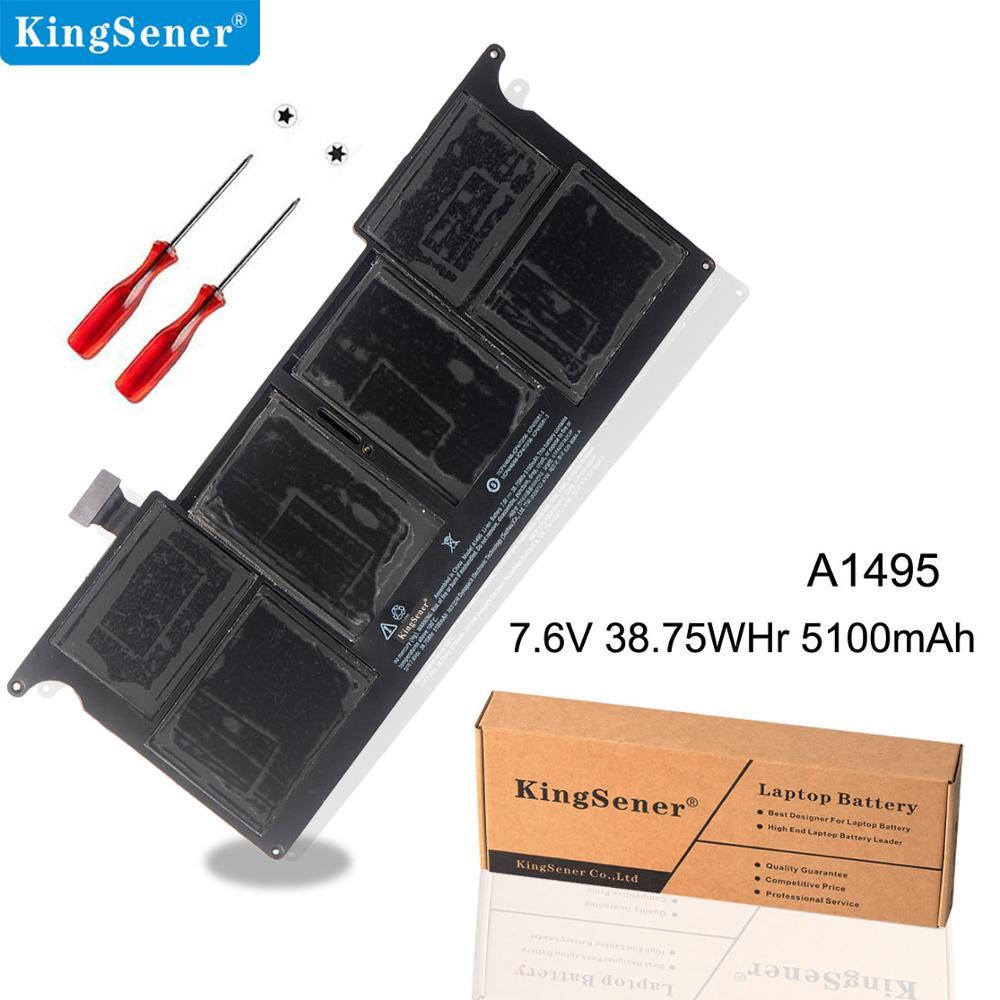 KingSener New A1495 Laptop Battery For Apple MacBook Air ...
