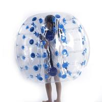 Free Shipping 1.0mm TPU Inflatable Zorb Ball 1.5m Bubble Soccer Ball Air Bumper Ball Bubble Football For Adults