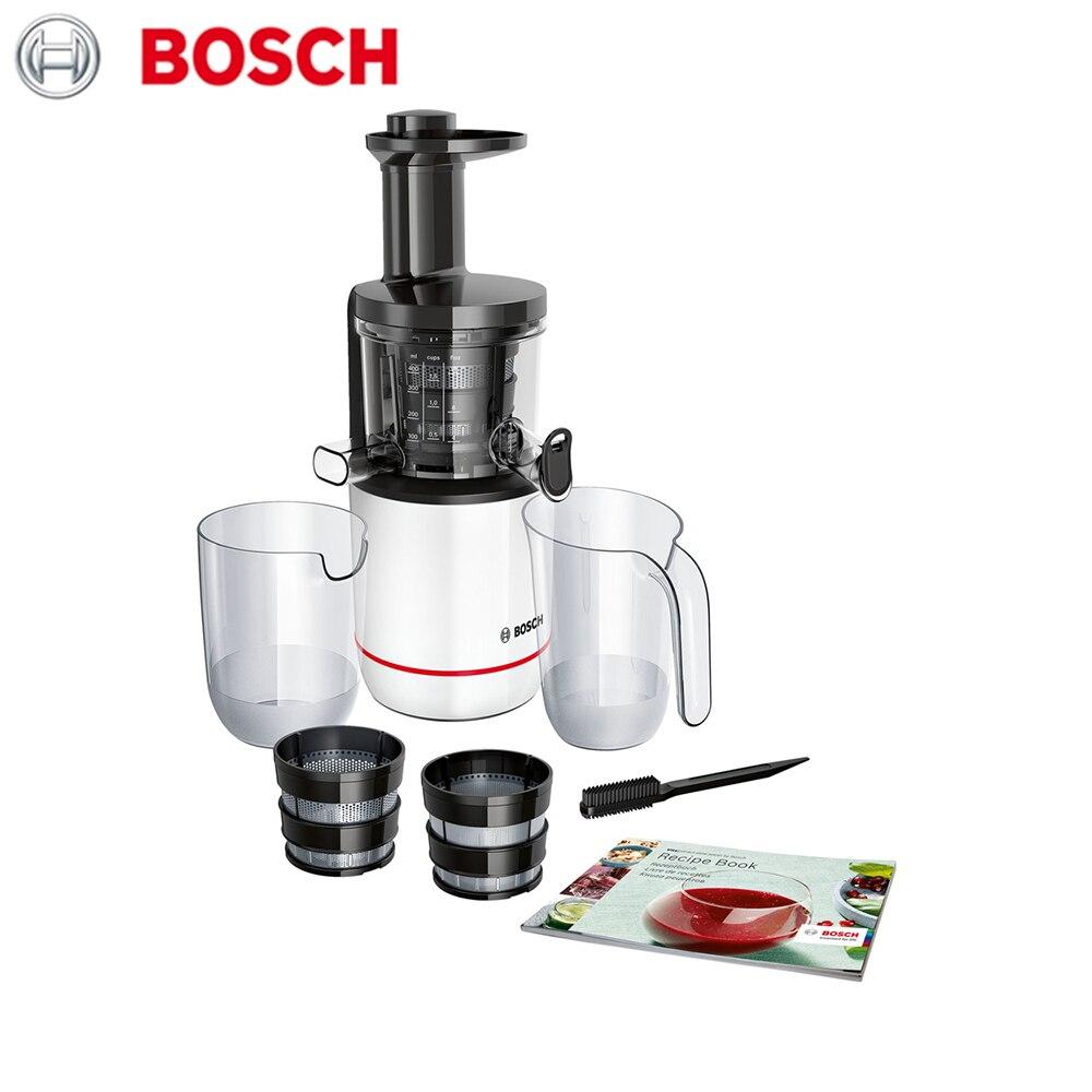 Juicers Bosch MESM500W home kitchen appliances juicer make juice assistant na chuan a0132 manual fruit juicer juice squeezer green