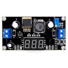 VHM-143 LM2596 Adjustable Buck Module DC Power Digital Displ