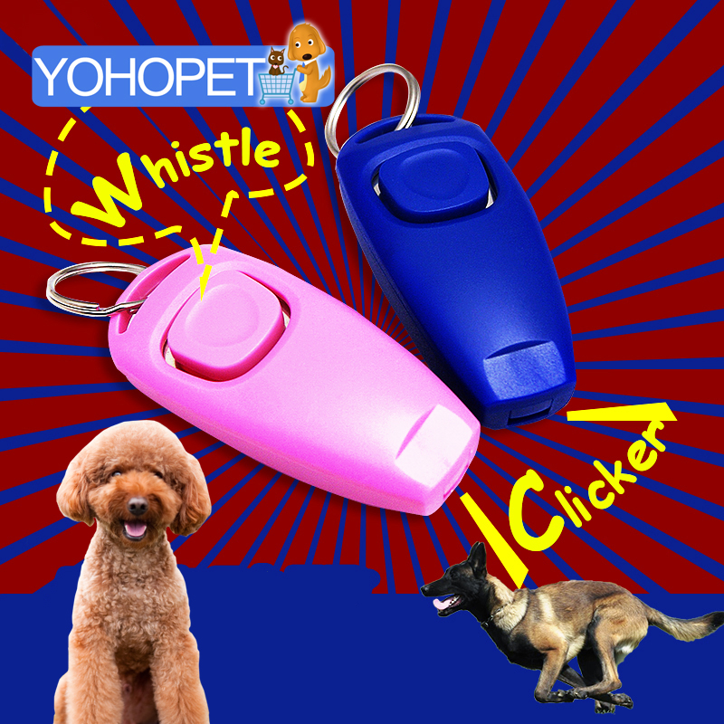 new Dog Whistle Collier Anti Aboiement Training Clicker pet anti dog barking training dogs Stop Barking