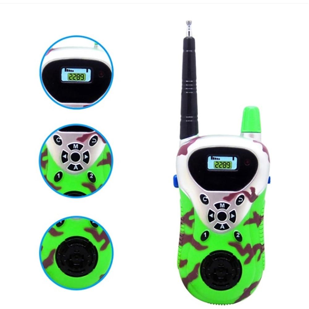 Kids Toy Walkie Talkies 2pcs Children Portable Walkie Talkies 2-Way Radio   Kids Child Mni Handheld