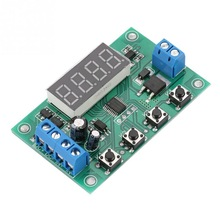 цена на DC 7-24V Cycle Delay Time Relay Multifunctional Pulse Trigger Timer Delay Relay YF-11